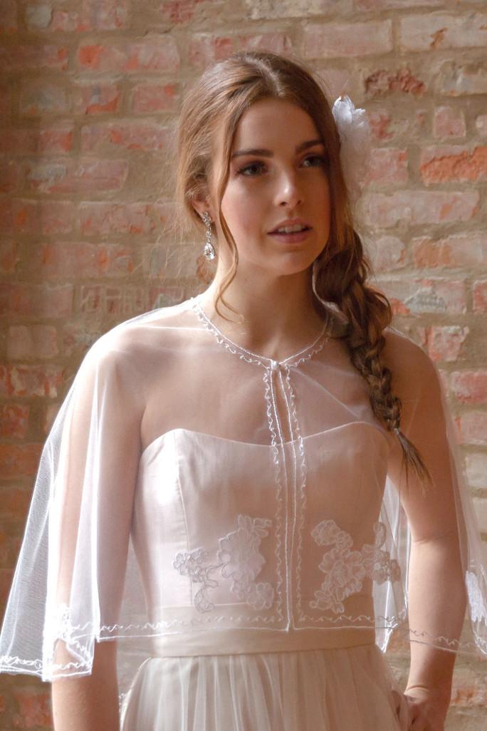 Bridal Cover Ups, Boleros, Capelets & more...
