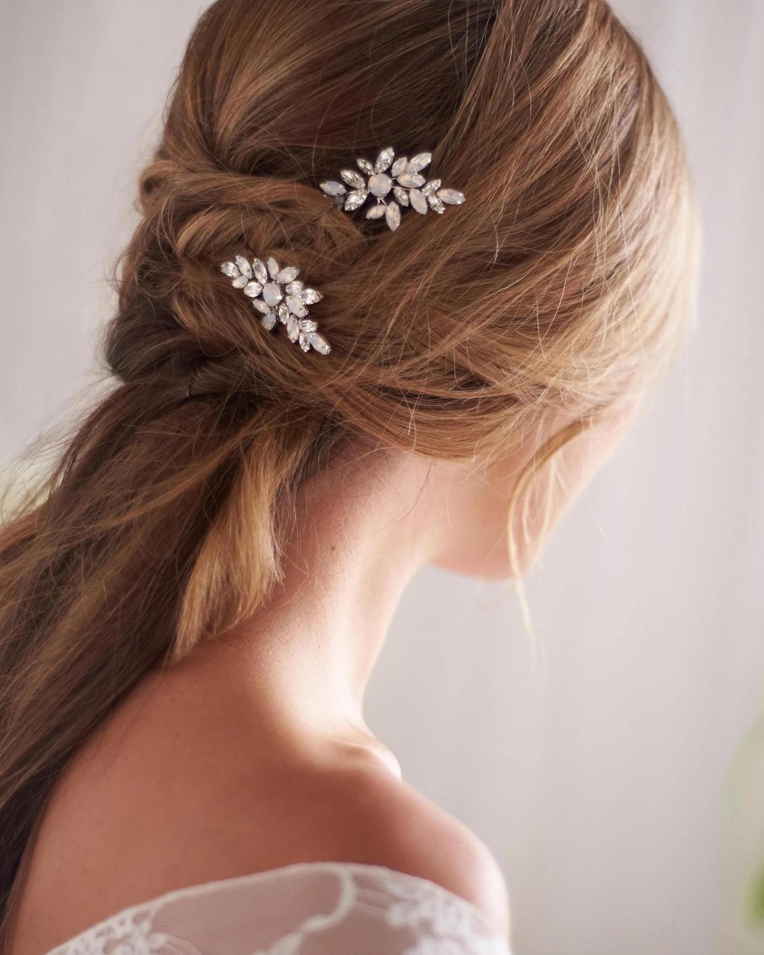 Ariana_Set of Bridal Crystal Hair Pins